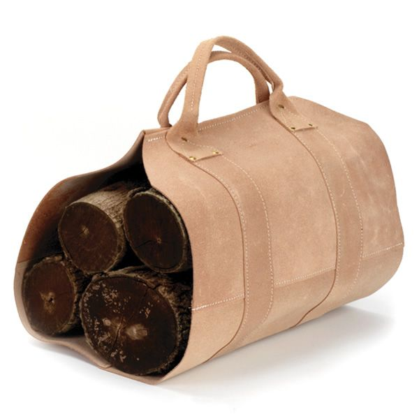 Copperfield Leather Log Carrier image number 0
