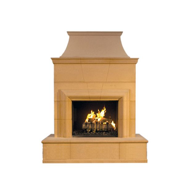 Cordova Outdoor Gas Fireplace image number 1