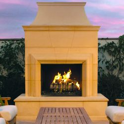 Cordova Outdoor Gas Fireplace