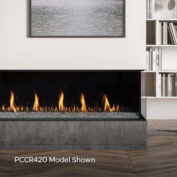 Montigo Prodigy Corner Direct Vent Gas Fireplace image number 1