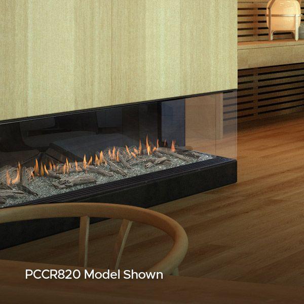 Montigo Prodigy Corner Direct Vent Gas Fireplace image number 3