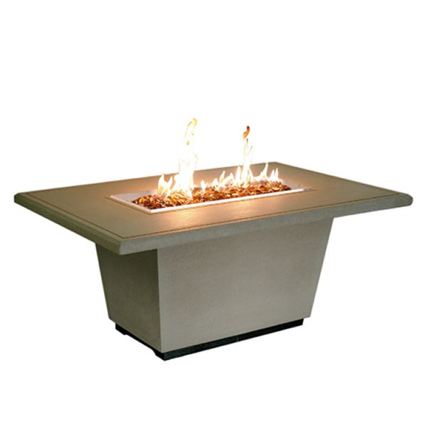 Cosmopolitan Rectangle Gas Fire Pit Table image number 1