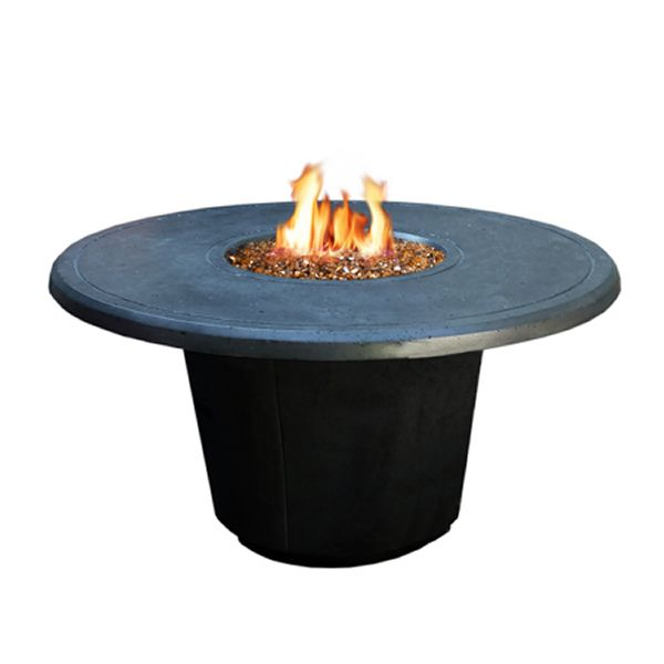 Cosmopolitan Round Gas Fire Pit Table image number 1