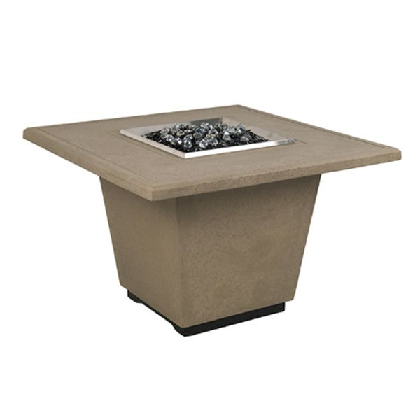 Cosmopolitan Square Gas Fire Pit Table image number 1