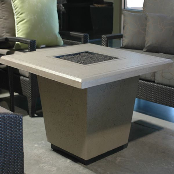 Cosmopolitan Square Gas Fire Pit Table image number 0