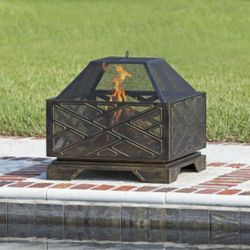 Catalano Square Wood Burning Fire Pit