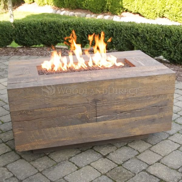 Catalina Wood Grain Fire Pit image number 1