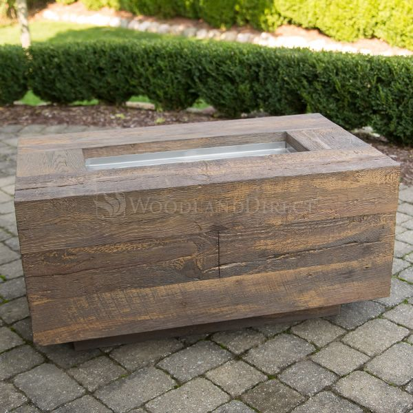 Catalina Wood Grain Fire Pit image number 6