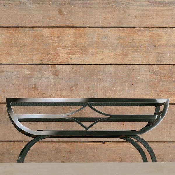 "Caxton Freestanding Fire Basket - 22"" image number 1"