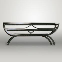 Caxton Freestanding Fire Basket - 22""