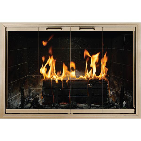 Cameo Masonry Fireplace Door image number 0
