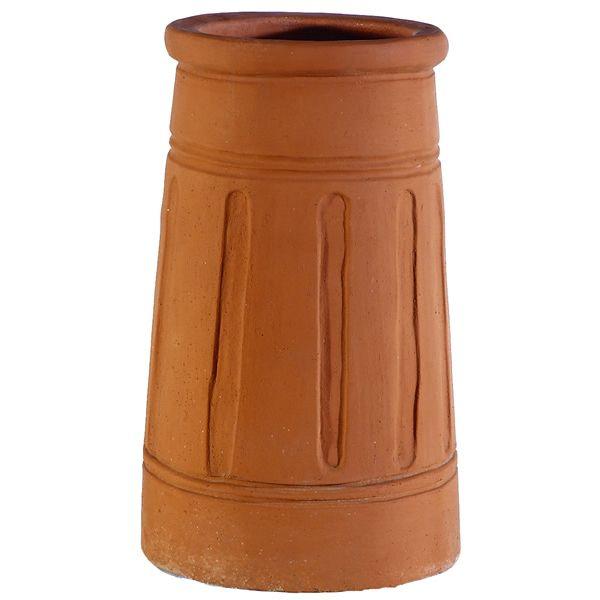 Sandkuhl Cannon Barrel Clay Chimney Pot image number 0