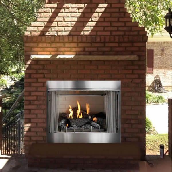 Carol Rose Premium Outdoor Firebox image number 1
