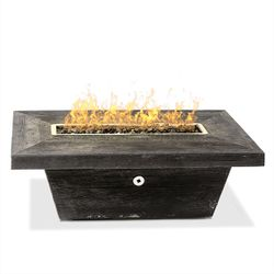 Carson Gas Fire Pit Table - Low Profile
