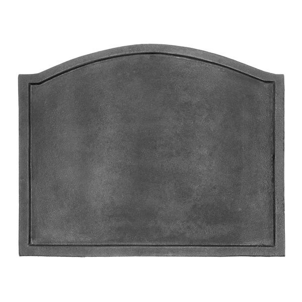 "Cast Iron Fireback - 19 1/2"" x 15 1/2"" image number 0"