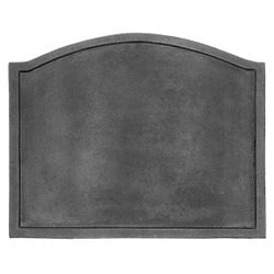 "Cast Iron Fireback - 22.5"" x 17.75"""