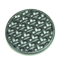 Cast Iron Round Lattice Wood Stove Trivet