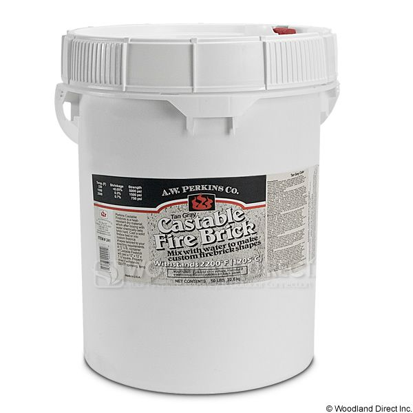 Castable Refractory Cement - 50 lbs. image number 0