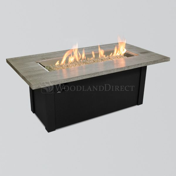 Cedar Bluff Linear Gas Fire Pit Table image number 1