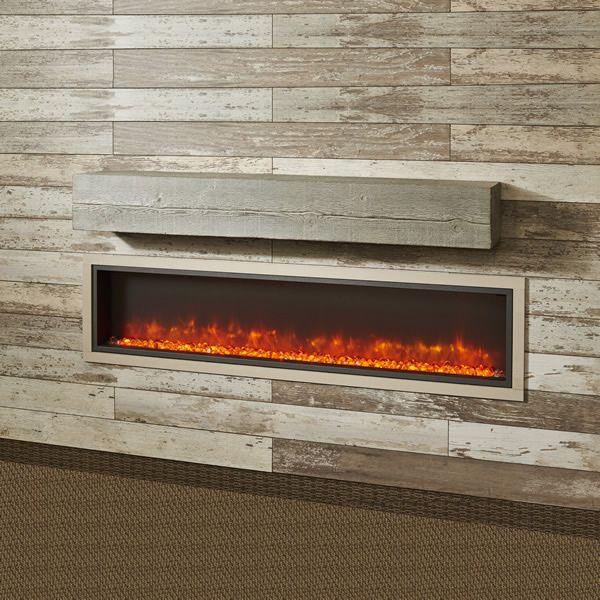 "Cedar Wash Supercast Fireplace Mantel Shelf - 72"" image number 0"