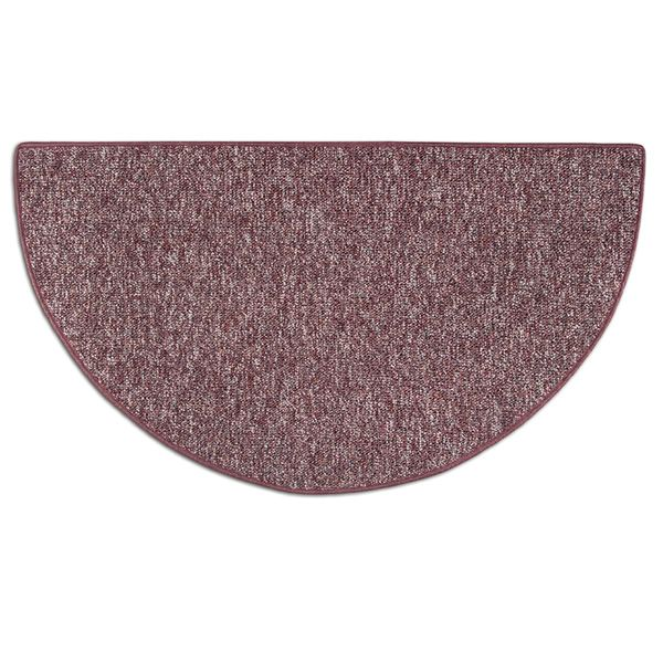 Celebration Half Round Fireplace Hearth Rug - 4' image number 0