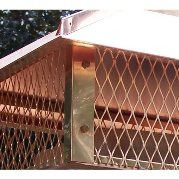 Champion Copper Multi-Flue Chimney Cap - Hip and Ridge image number 3