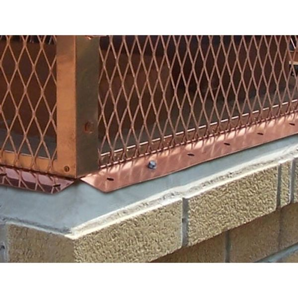 Champion Copper Multi-Flue Chimney Cap - Hip and Ridge image number 4