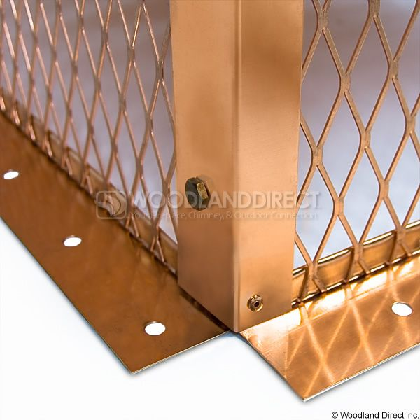 Champion Copper Multi-Flue Chimney Cap - Hip and Ridge image number 7
