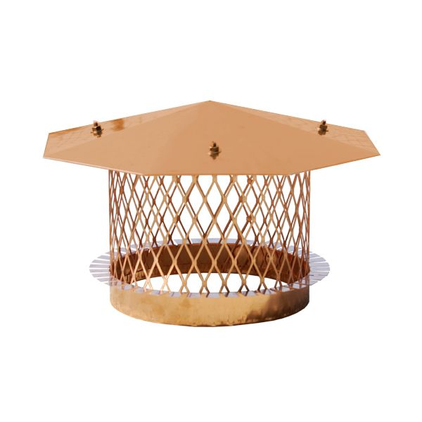 Copper Octagon Pot Topper image number 0