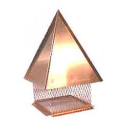 Extreme Hip Copper Chimney Cap