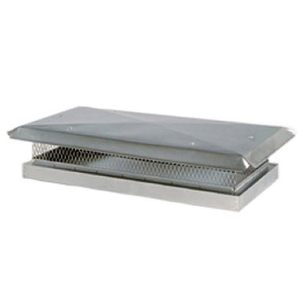 Custom Stainless Steel Flat Lid Chimney Cap image number 0