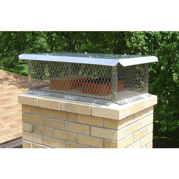 Champion Stainless Steel Multi-Flue Chimney Cap - Flat Lid image number 1