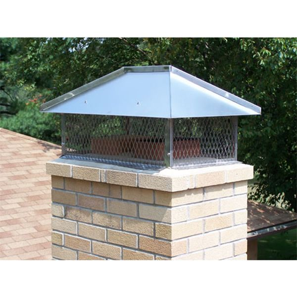 Champion Stainless Steel Multi-Flue Chimney Cap - Hip and Ridge image number 1