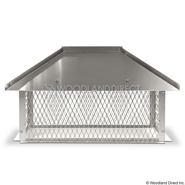 Champion Stainless Steel Multi-Flue Chimney Cap - Hip and Ridge image number 3