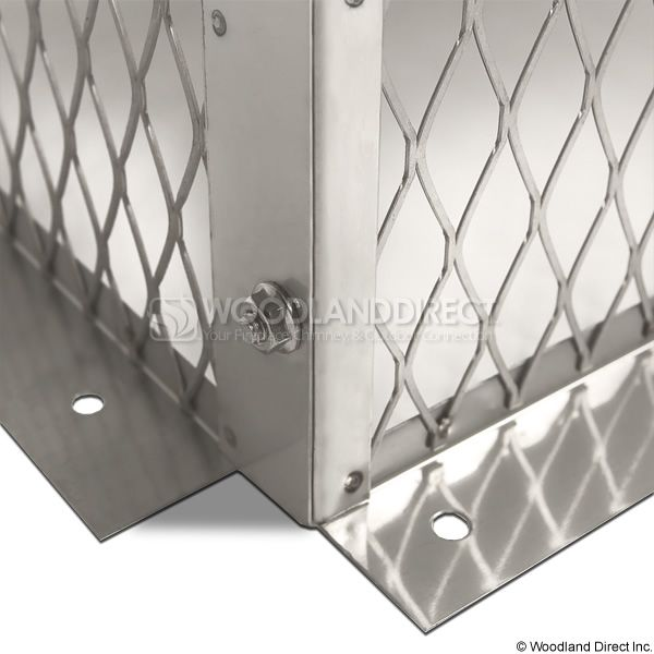 Champion Stainless Steel Multi-Flue Chimney Cap - Hip and Ridge image number 4