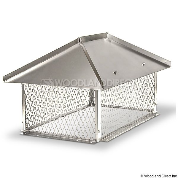 Champion Stainless Steel Multi-Flue Chimney Cap - Hip and Ridge image number 0