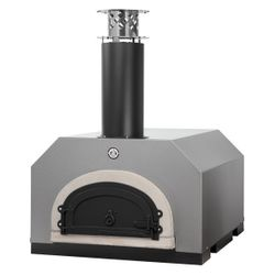 Chicago Brick Oven 500 Countertop Pizza Oven - Silver