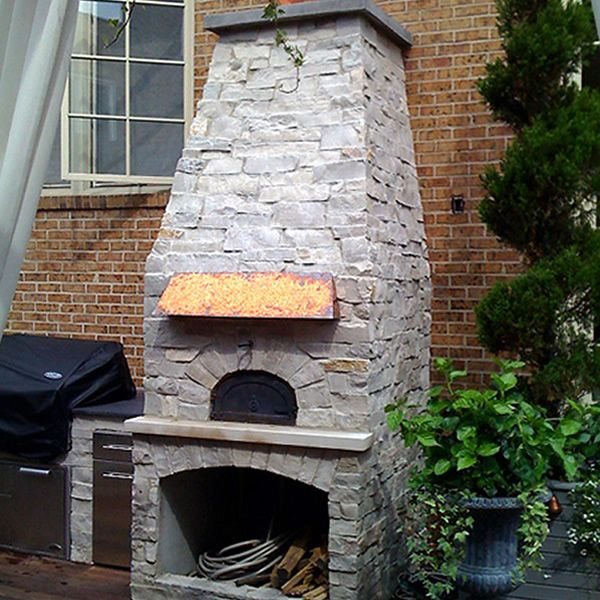 Chicago Brick Oven 500 Series Pizza Oven image number 6