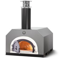 Chicago Brick Oven 750 Countertop Pizza Oven - Silver