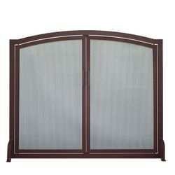 Classic Arched Fireplace Screen with Doors
