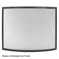 Classic Bowed Fireplace Screen