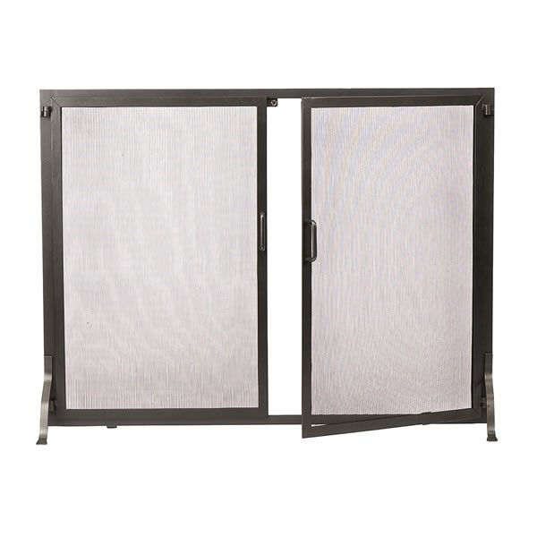 "Classic Fireplace Screen w/Doors - 38"" W x 30"" H image number 0"