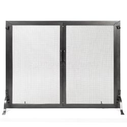 "Classic Fireplace Screen w/Doors -  44"" x 33"""