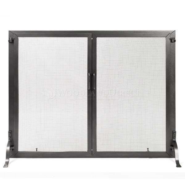 "Classic Fireplace Screen w/Doors - 44"" W x 33"" H image number 0"