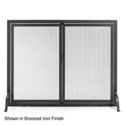 Classic Fireplace Screen with Doors