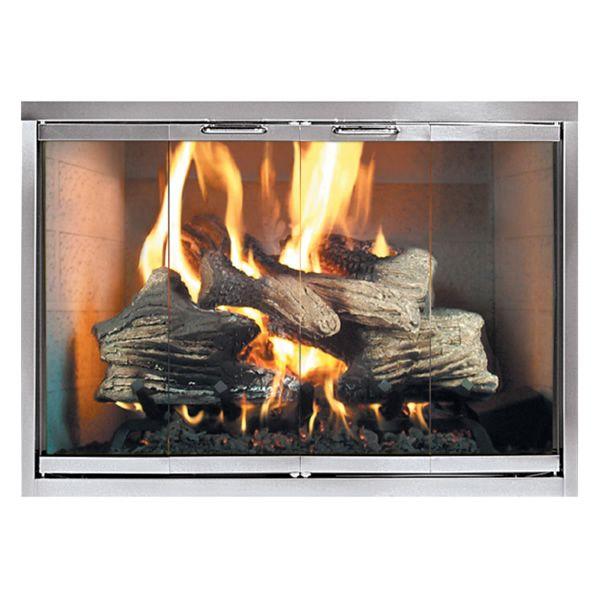 Classic Masonry Fireplace Door image number 0