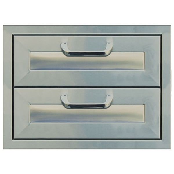 """Classic Panel Series Double Drawer Storage - 17"""" x 12.5"""" image number 0"""