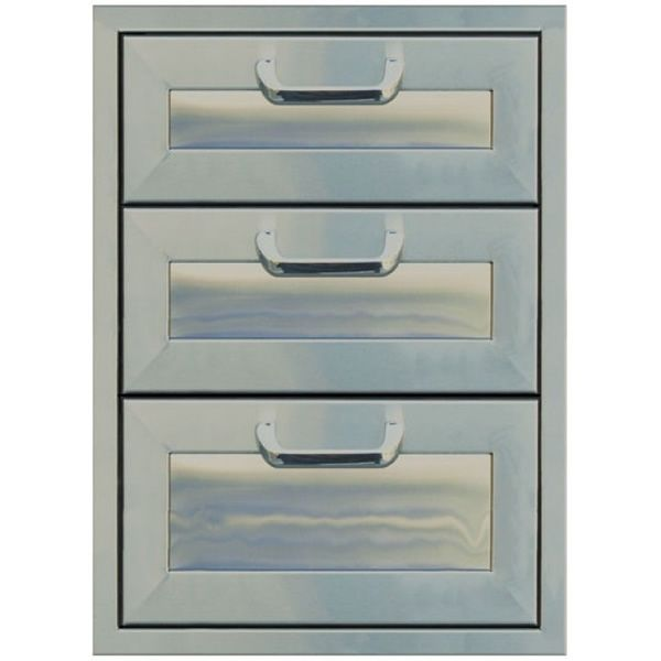 "Classic Panel Series Triple Drawer Storage - 17"" x 24"" image number 0"