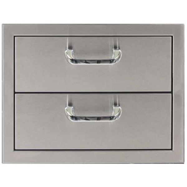 "Classic Series Double Drawer Storage - 17"" x 12.5"" image number 0"