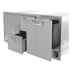 Classic Series Door/Drawer/Trash Combo - 42""